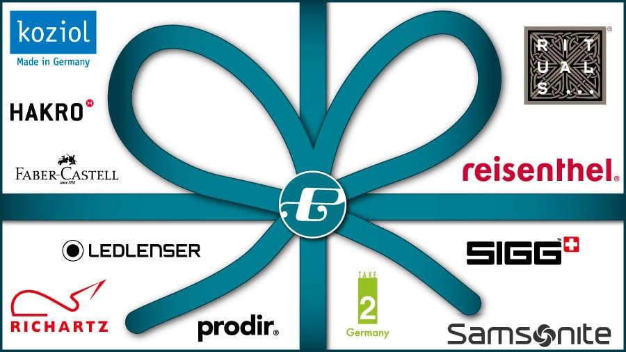 FREIE BUDGETS sinnvoll nutzen - Markenartikel als Geschenk für Ihre Mitarbeiter oder Geschäftspartner